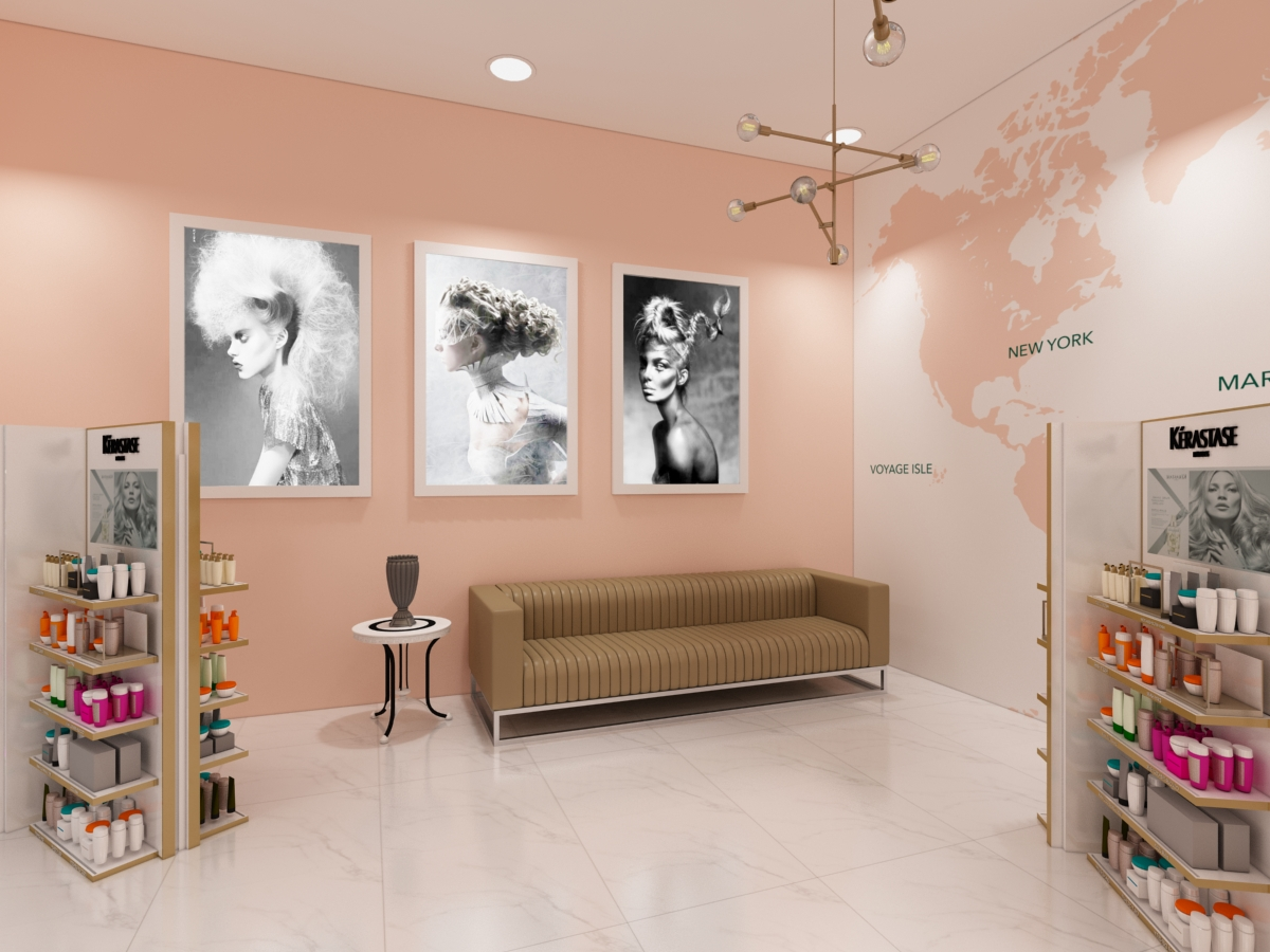 Salon Interior Design Dubai